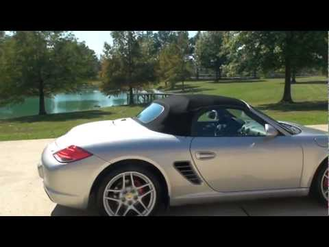 2009 porsche boxster s convertible navigation loaded for sale see www sunsetmilan com youtube. Black Bedroom Furniture Sets. Home Design Ideas