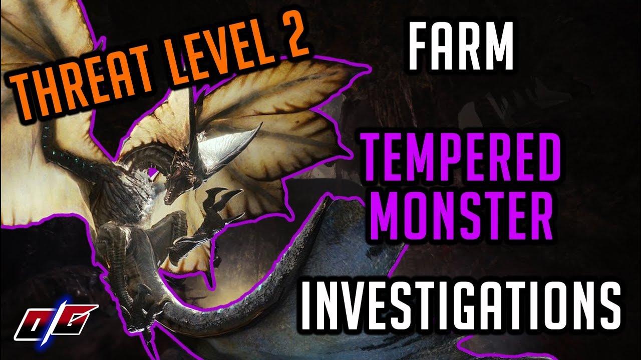Monster Hunter World: How to Get Tempered Monster Investigations
