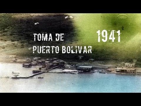✪ Toma de Puerto Bolívar ╬ Primer Asalto Aerotransportado en América (1941) ✪