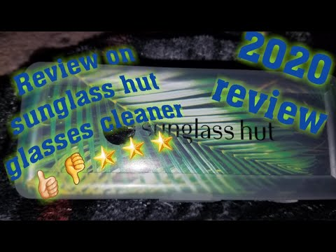 review-on-sunglass-hut-glasses-cleaner-👍🏻👎🌟🌟🌟