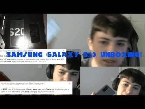 Samsung Galaxy S20 Unboxing!