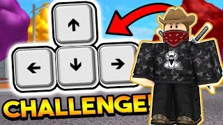 ARROW KEYS ONLY CHALLENGE! | ROBLOX: Super Power Training Simulator