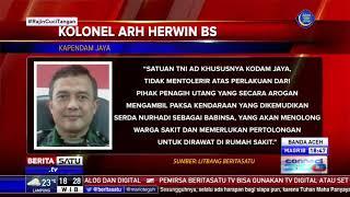 Kodam Jaya Tidak Terima Anggota Babinsa Dikeroyok Debt Collector