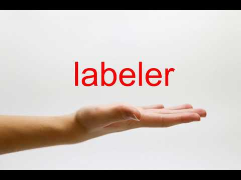 How to Pronounce labeler - American English