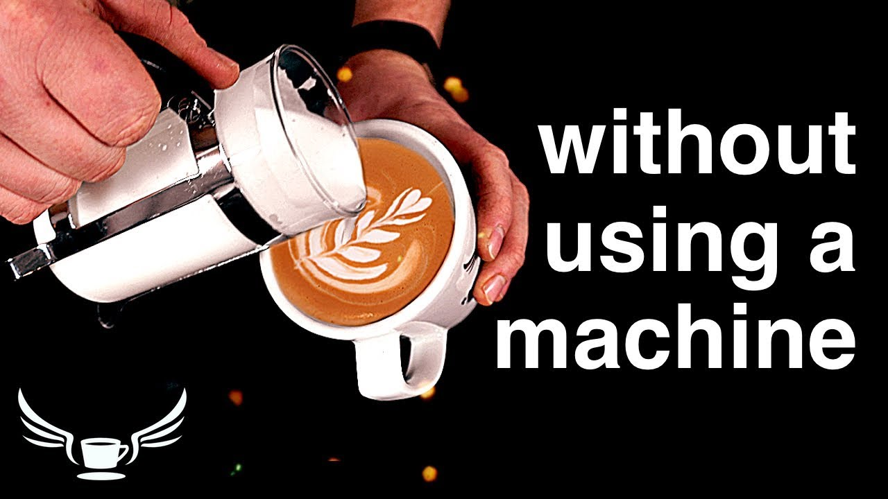 Make A Latte At Home Home Barista Youtube