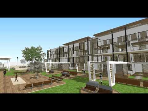Conjunto de viviendas youtube for Frentes de viviendas