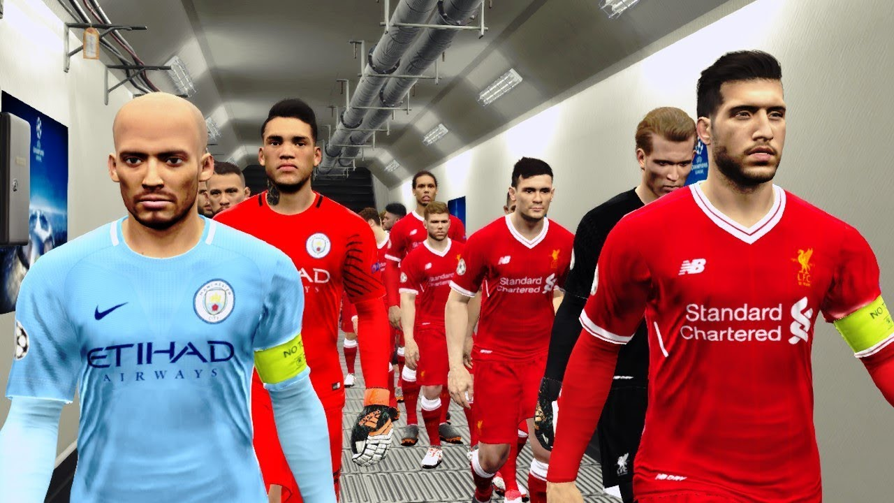 Liverpool vs Manchester City | UCL 4 April 2018 Gameplay ...