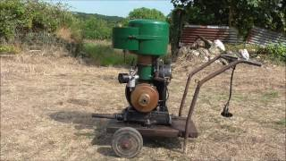 Villiers WX11 pump set - Vintage Stationary Engine -