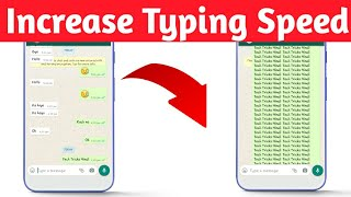 How to chat faster in Whatsapp | Increase typing speed 1000X in  Whatsapp | Creative Champion