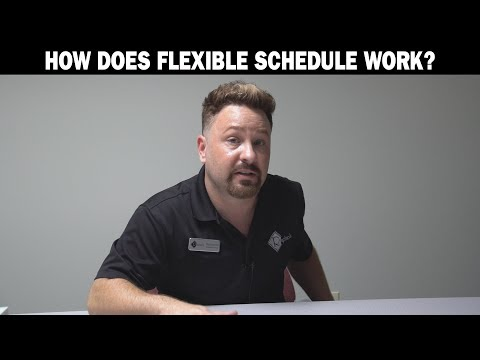 How Does Flexible Schedule Work?