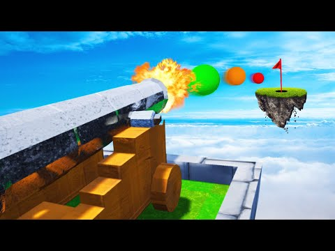 FLOATING ISLAND CANON GOLF! (Golf It)