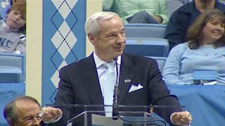 Roy Williams on Coach Dean Smith