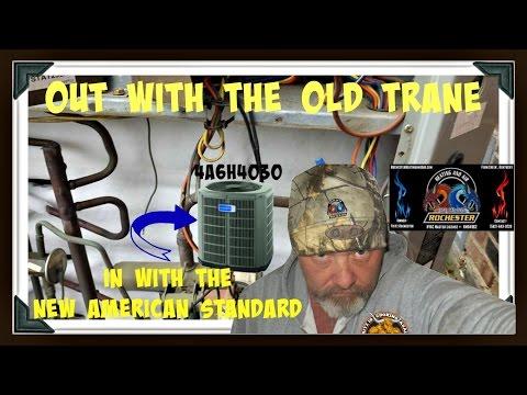American Standard Heat Pump Install