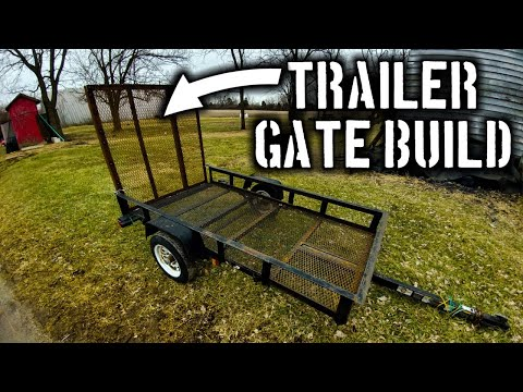 Making a Trailer Gate: FABRICATION TIME!