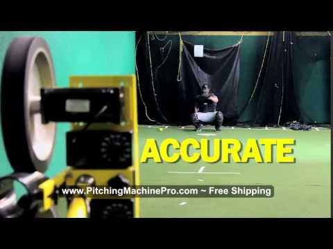 Spinball Wizard Baseball Softball Pitching Machine Free Shipping