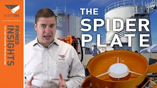 Spider Plates Improve Blast Pot Pressure And Reduce Wear and Tear