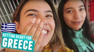 GETTING READY FOR GREECE | Packing, Nails & Shopping!