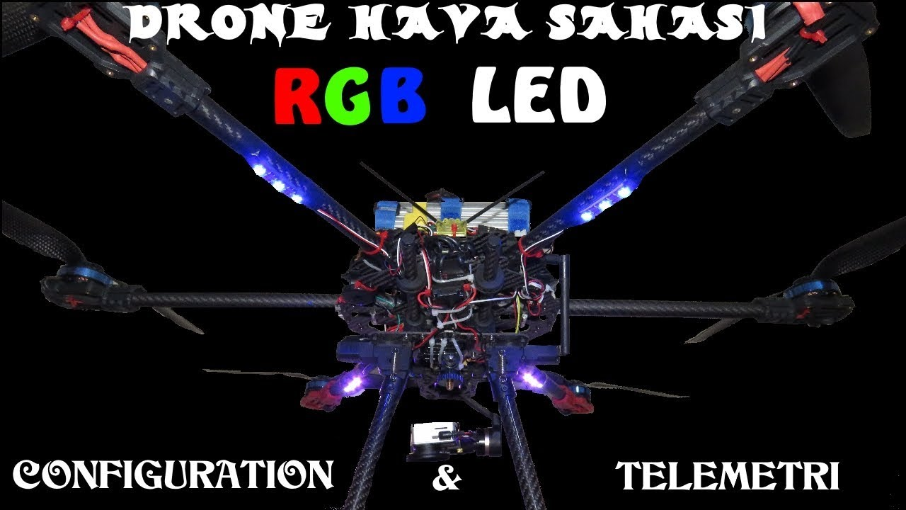 (Hexacopter Assembly 11) MAVLINK RGB Led (Pixhawk & Apm)Assembly and  settings