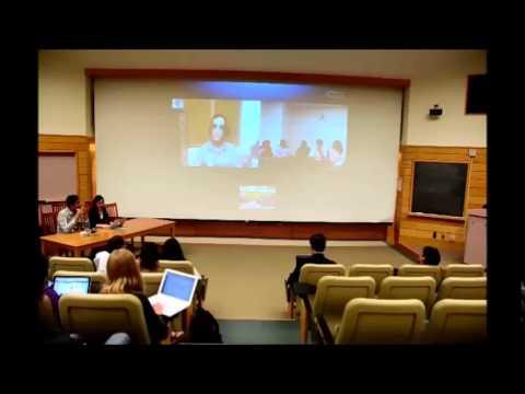 Cornell University Skypes with Mr. Ajay Maken (Former Union Minister, Member of Parliament, India)