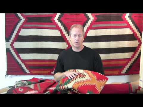 Native American Indian Blankets How To Identify A Germantown Navajo Blanket