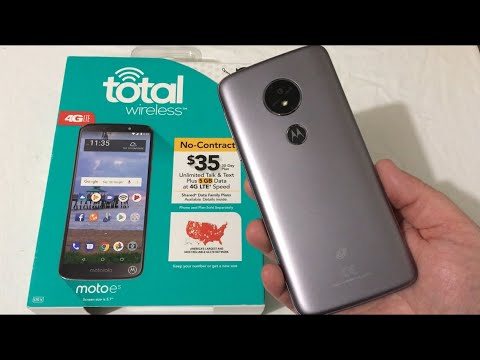Motorola Moto E5 Unboxing & First Impressions (Total Wireless)