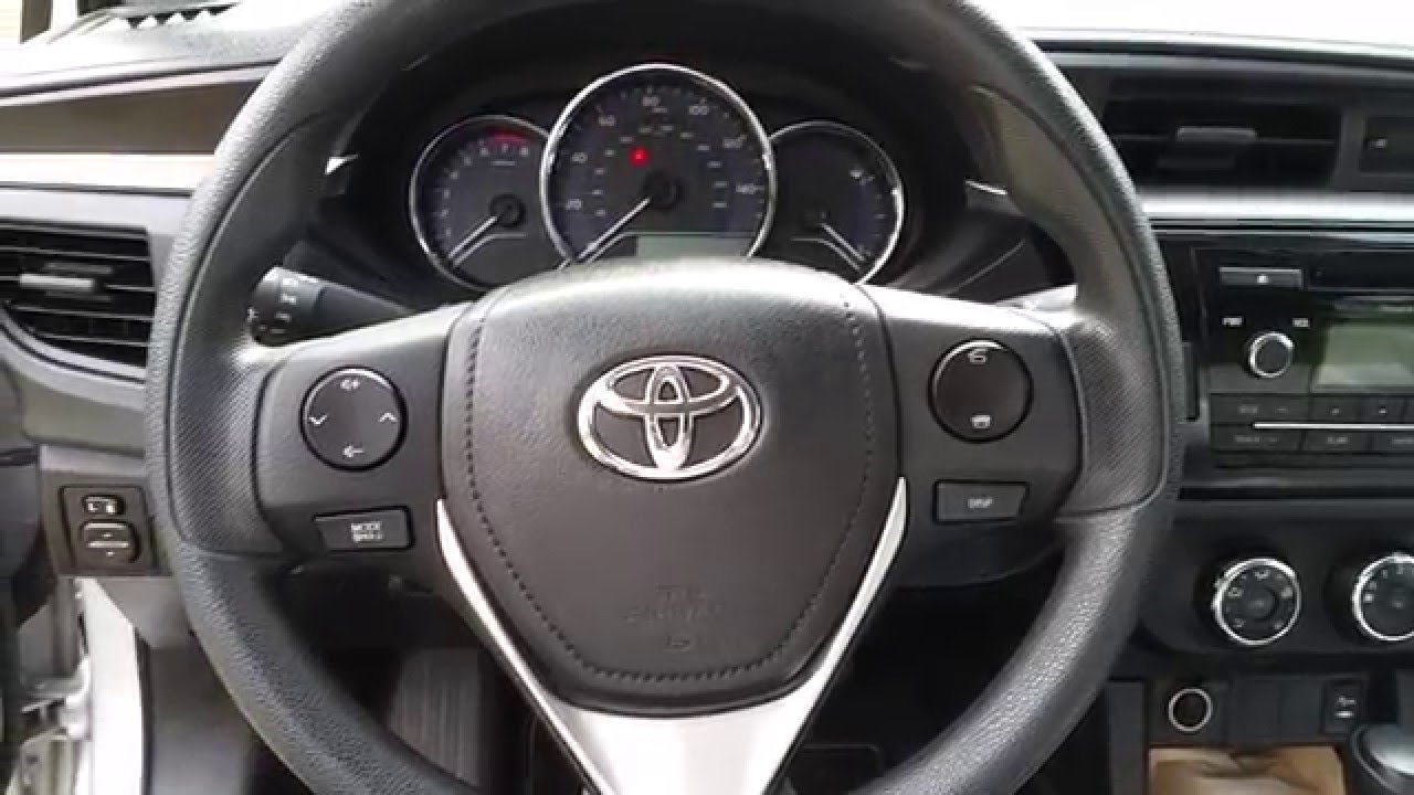 2014 2018 toyota corolla l trim level no cruise control feature missing switch stalk youtube. Black Bedroom Furniture Sets. Home Design Ideas
