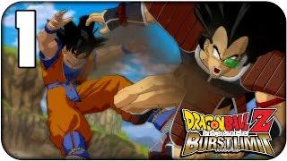 Dragon Ball Z Burst Limit   Walkthrough   Parte 1   Raditz y los Saibaman (Saga Saiyan)