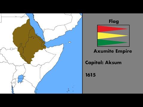 Alternate History Of Ethiopia 1250 - 2018
