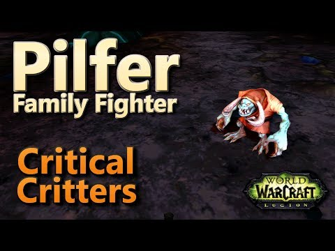 Pilfer Critical Critters Family Fighter