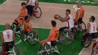 Wheelchair Basketball | Turkey vs Netherlands | Men's preliminaries | Rio 2016 Paralympic Games