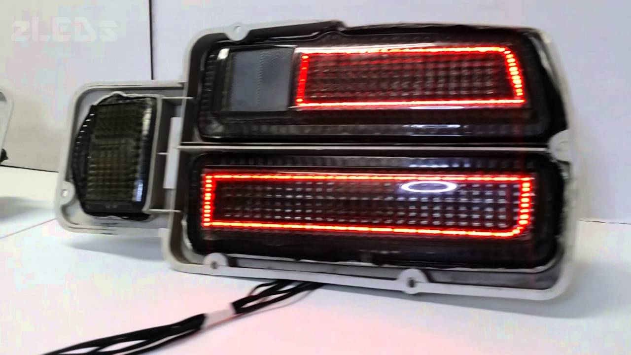 280z Smoked Led Sequential Tail Lights Youtube