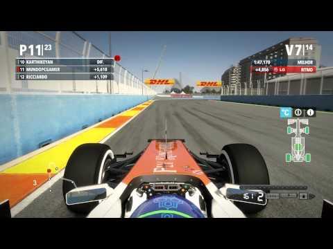 Formula 1 2012 : Corrida Europa #17