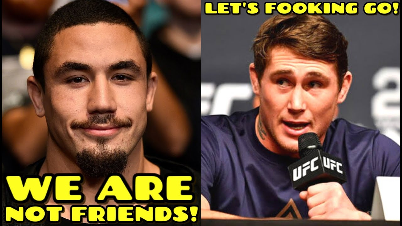 "Robert Whittaker PLANS on ""CRUSHING"" Darren Till: ""We ARE NOT FRIENDS, I'm TAKING what's YOURS"""