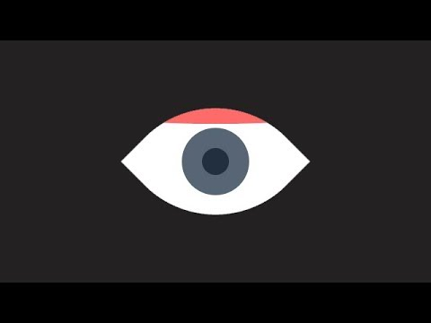 Animated Eye On Hover Using Only HTML & CSS