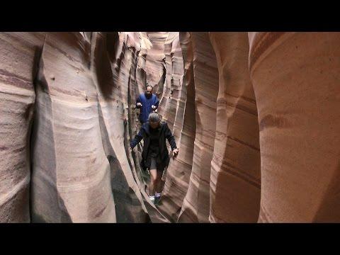 Spooky, Peek-a-boo and Zebra Slot Canyons, Escalante, Utah in HD