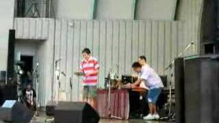 スマーフ in 上野水上野外音楽堂