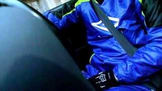 Shiny nylon UMBRO suit