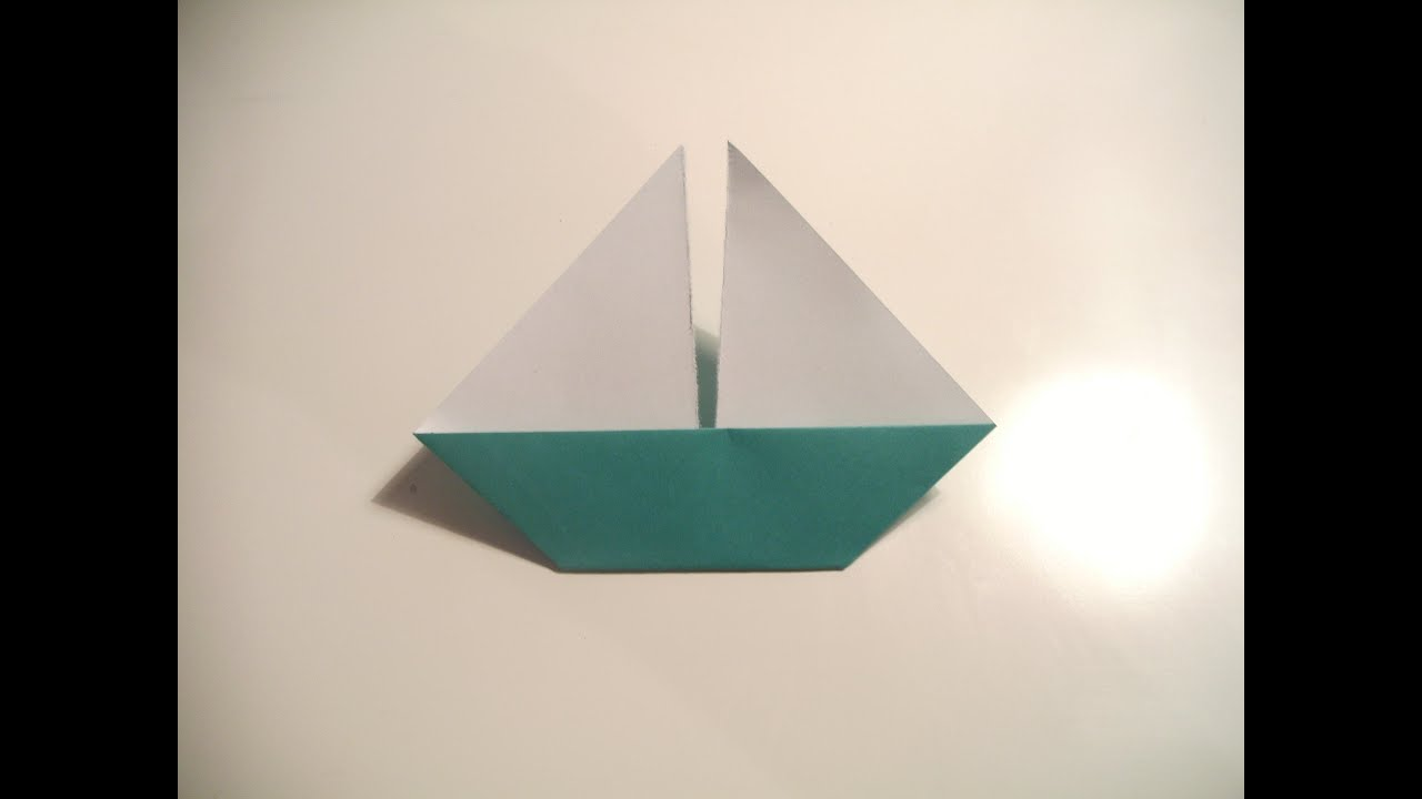 How To Make A Paper Boat Please