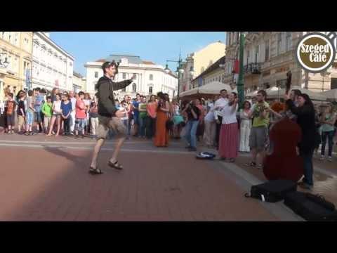 Táncra perdült a Klauzál tér Szegeden