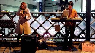 2018.03.03(sat)川口路上ライブ 七海有希さんは川口市出身のシンガーソ...