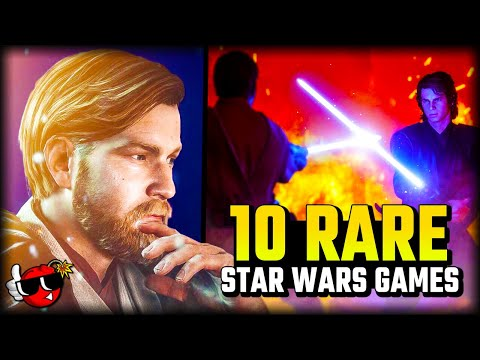 10 RARE Star Wars Games you've probably NEVER heard of |