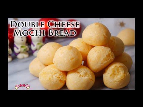 double-cheese-mochi-mini-bread-recipe|asmr|ladymoko