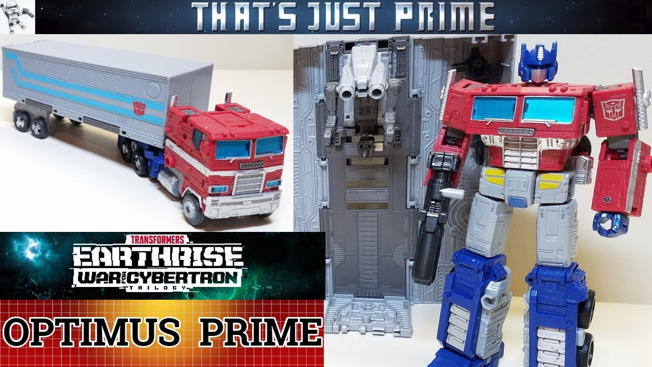 EARTHRISE War For Cybertron OPTIMUS PRIME!