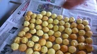 Làm bánh thuẫn truyền thống nhu the nao