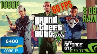 Скачать Recommended GTA V Settings For GTX 1050 TI I5 6400 8GB RAM 60FPS