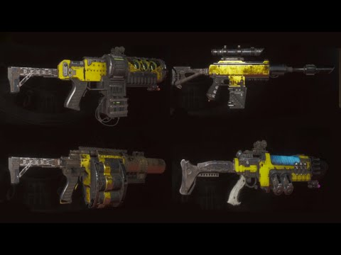 Necromunda Hired Gun all weapon demonstration category Special |