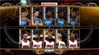 NBA 2k13 Demo Gameplay - LeBron James vs Kevin Durant | Can