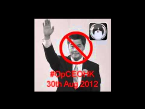 Anonymous #OpCEOHK