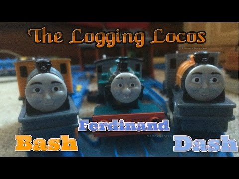 Trackmaster The Logging Locos Review & First Run *disappointing Review*