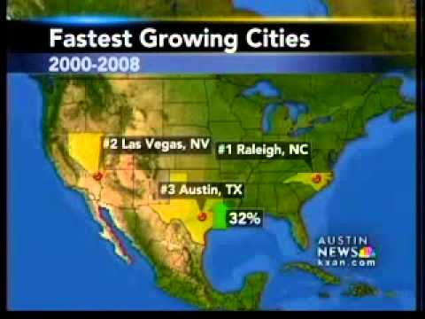 Austin is #3 fastest-growing city in US